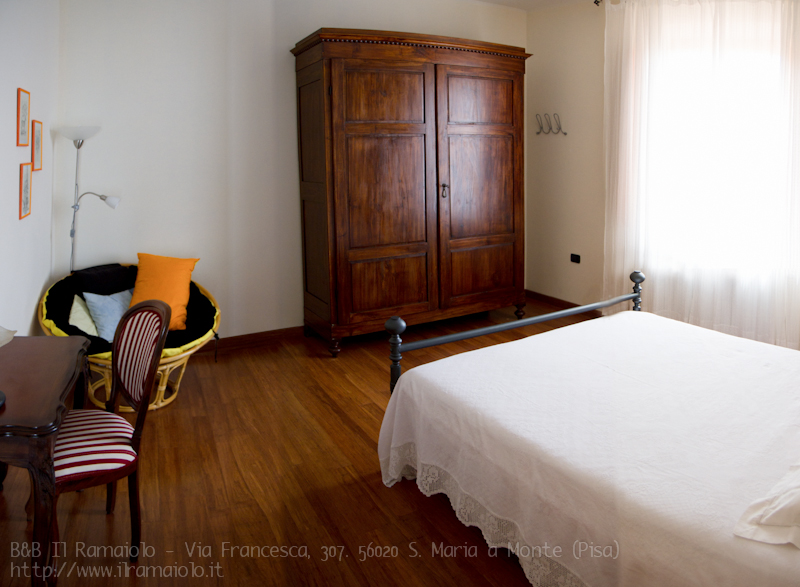Bed and Breakfast il Ramaiolo - Via Francesca, 307 56020 Santa Maria a Monte Pisa - B&B Toscana
